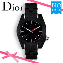 【Dior】スイス製♪* CHIFFRE ROUGE A06*防水★腕時計★