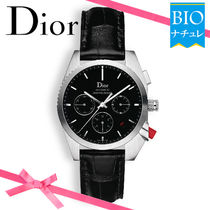 【Dior】スイス製♪* CHIFFRE ROUGE A02*防水★腕時計★
