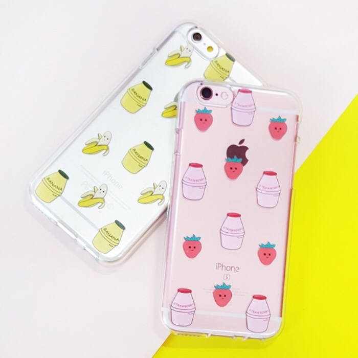 Milk Series iPhone Case 牛乳シリーズiPhoneケース