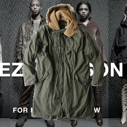 **YEEZY Season 5** LONG PARKA ロングパーカー Military Green