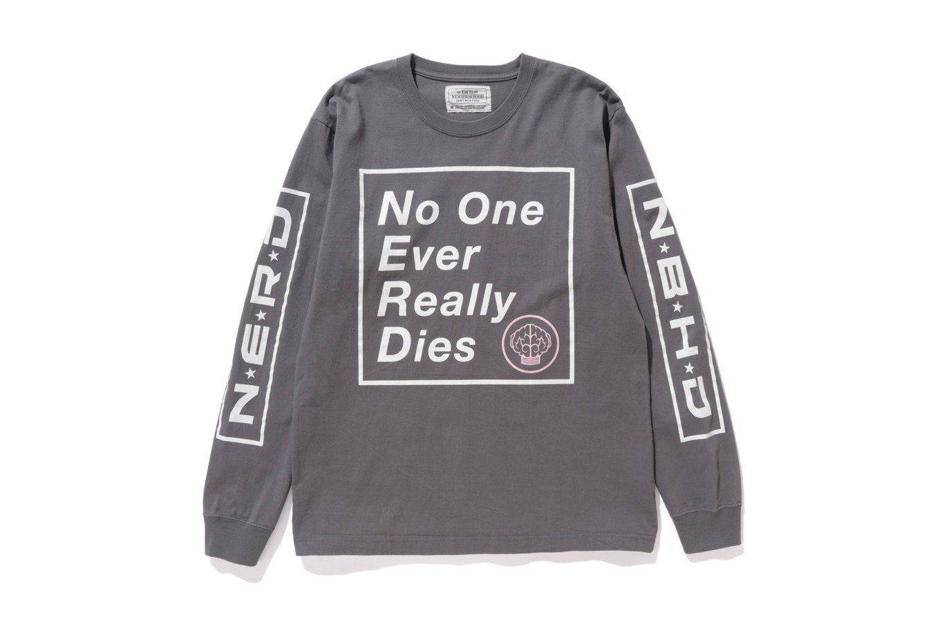 N.E.R.D. × NEIGHBORHOOD LONG SLEEVE Tシャツ ロンT