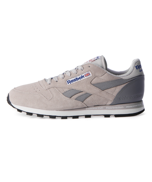 【REEBOKリーボック】THISISNEVERTHAT CL LEATHER THIS コラボ