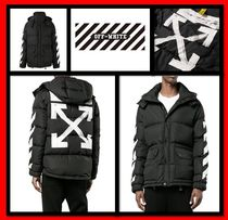 【Off-White】★正規品 BRUSHED DOWN JACKET ダウンジャケット★