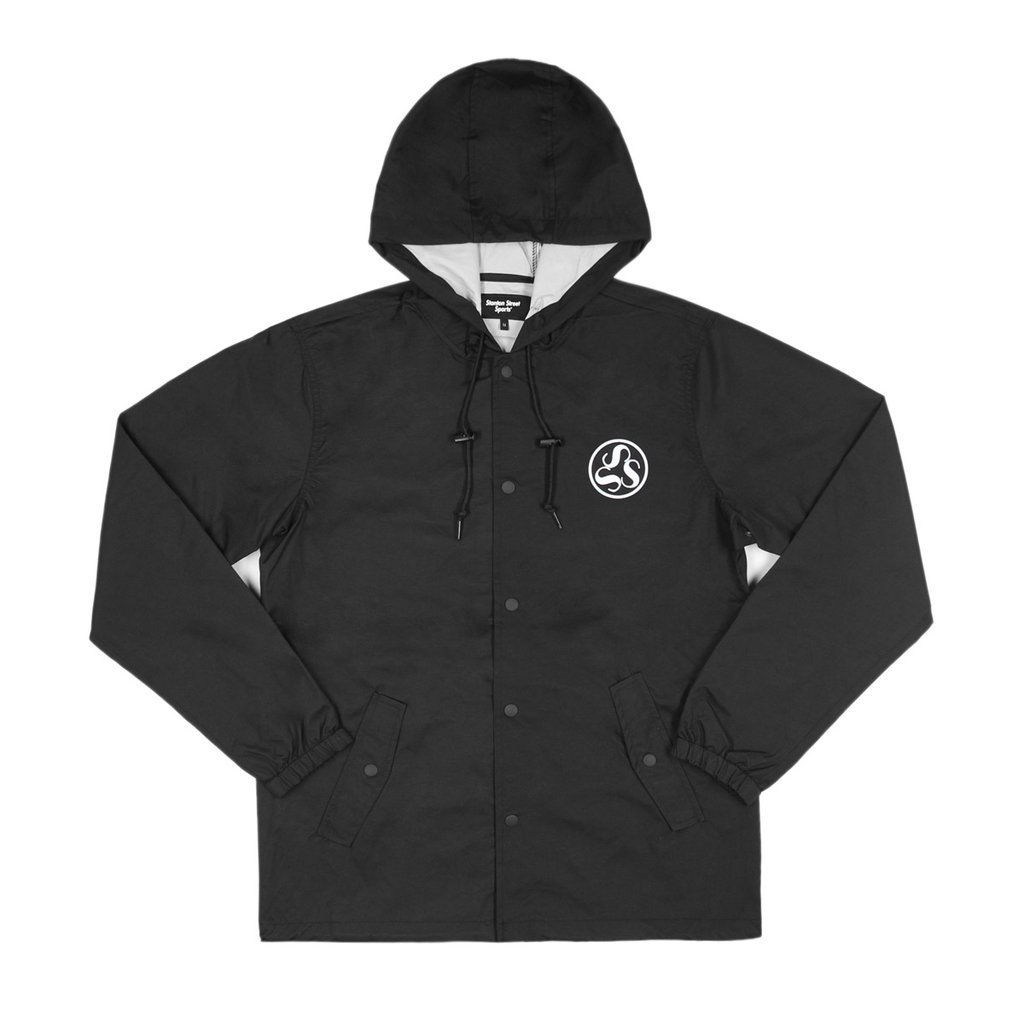 17A/W★ONLY NY★Stanton Emblem Hooded コーチジャケット*