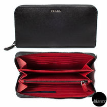 関税込PRADA 2ML317 C5S SAFFIANO ZIP AROUND WALLET バイカラー