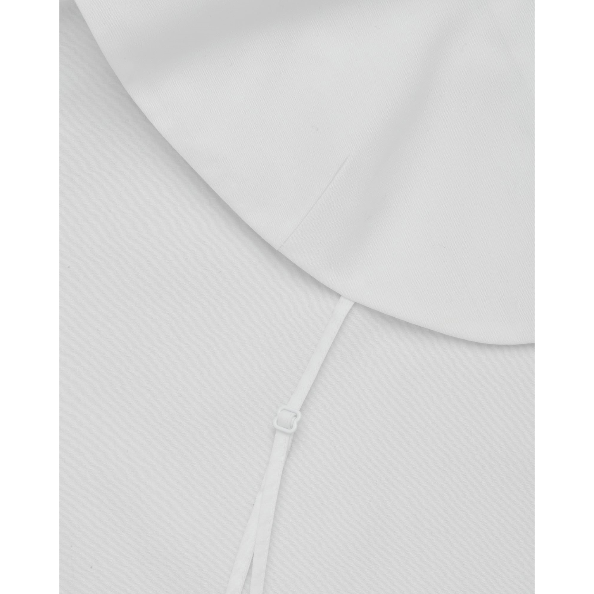 COS☆PLEATED MOCK SHIRT / white