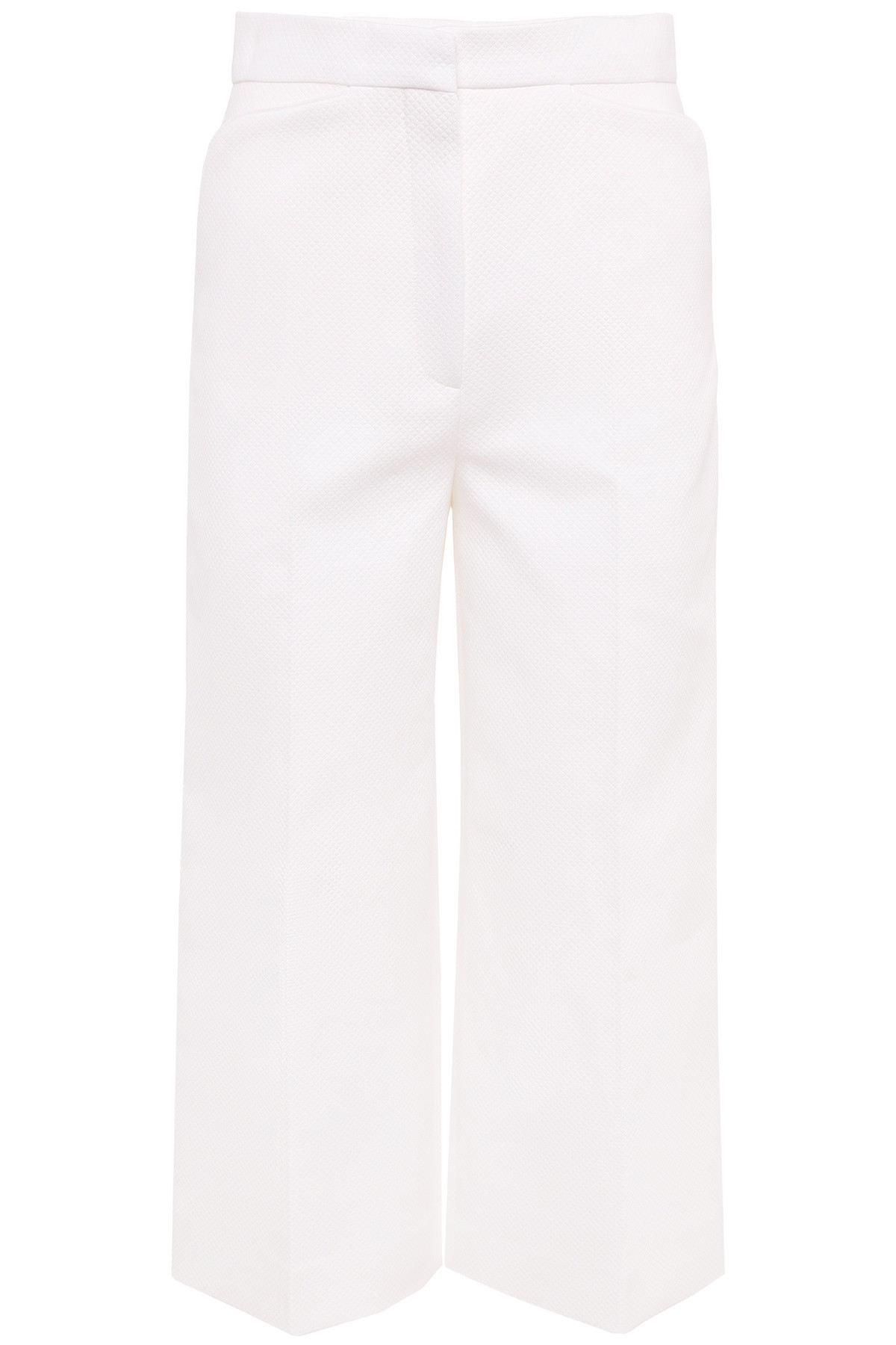 DIOR Piquet Cropped Trousers