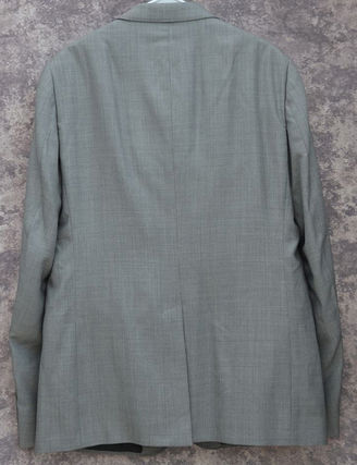 GUCCI スーツ GUCCI★グッチ素敵! Gray Mens 2 Button Wool Suit sz.58(3)