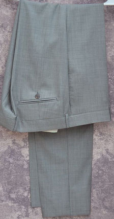 GUCCI スーツ GUCCI★グッチ素敵! Gray Mens 2 Button Wool Suit sz.58(7)