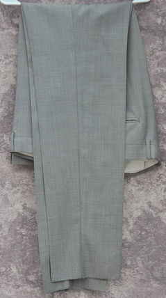 GUCCI スーツ GUCCI★グッチ素敵! Gray Mens 2 Button Wool Suit sz.58(8)