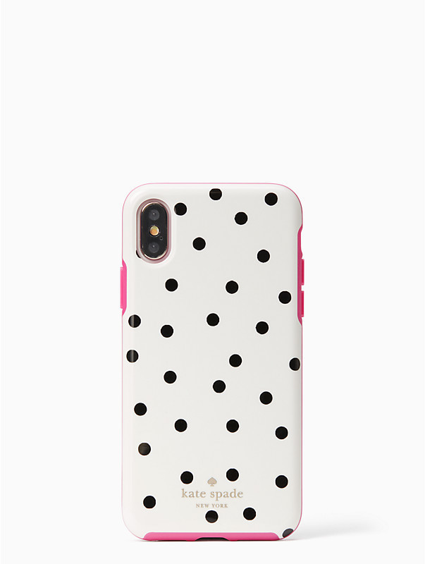 Kate Spade Dancing Dot iPhone X Case