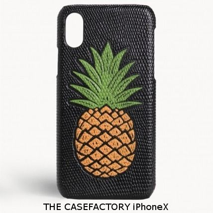 THE CASE FACTORY iPhone・スマホケース 関税送料込☆THE CASEFACTORY☆iPhone X パイナップルケース