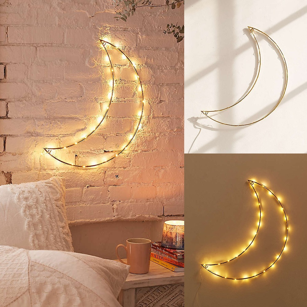 Urban Outfitters★Geo Moon Light Sculptureジオムーンライト2
