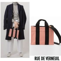 RUE DE VERNEUIL パリ セレブカジュアル FW17 BABY TOTE ピンク