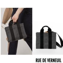 RUE DE VERNEUIL パリ セレブカジュアル FW17 BABY TOTE グレー