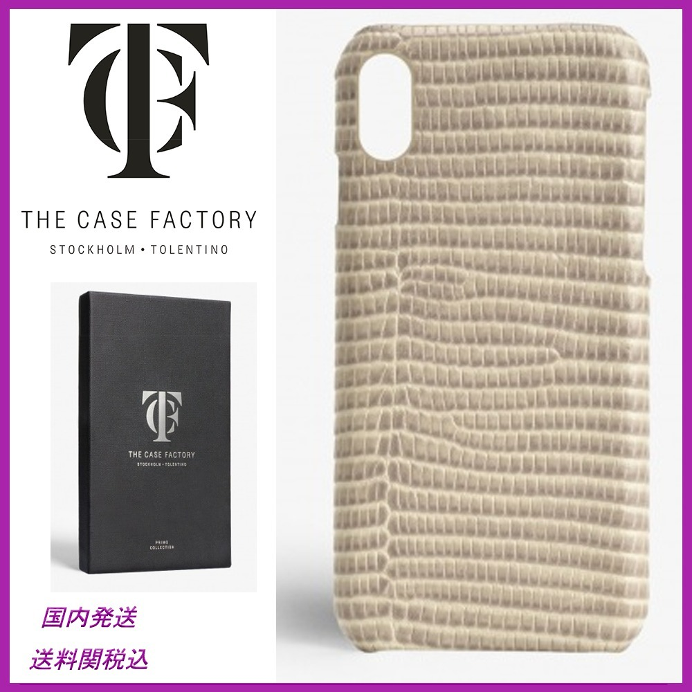 日本未入荷☆THE CASE FACTORY☆Varan Shell iPhoneX case