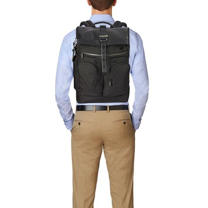 TUMI バックパック・リュック TUMI ALPHA BRAVO London Roll Top Backpack(6)