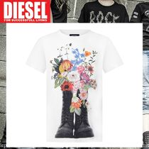 DIESEL★GIRLS★大人もOK★FLORAL BOOTSプリント トップス