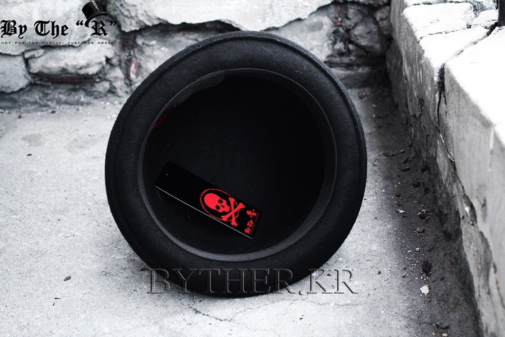 ★韓国の人気★BTHR★ByTheR Wrinkle Fedora★UNISEX