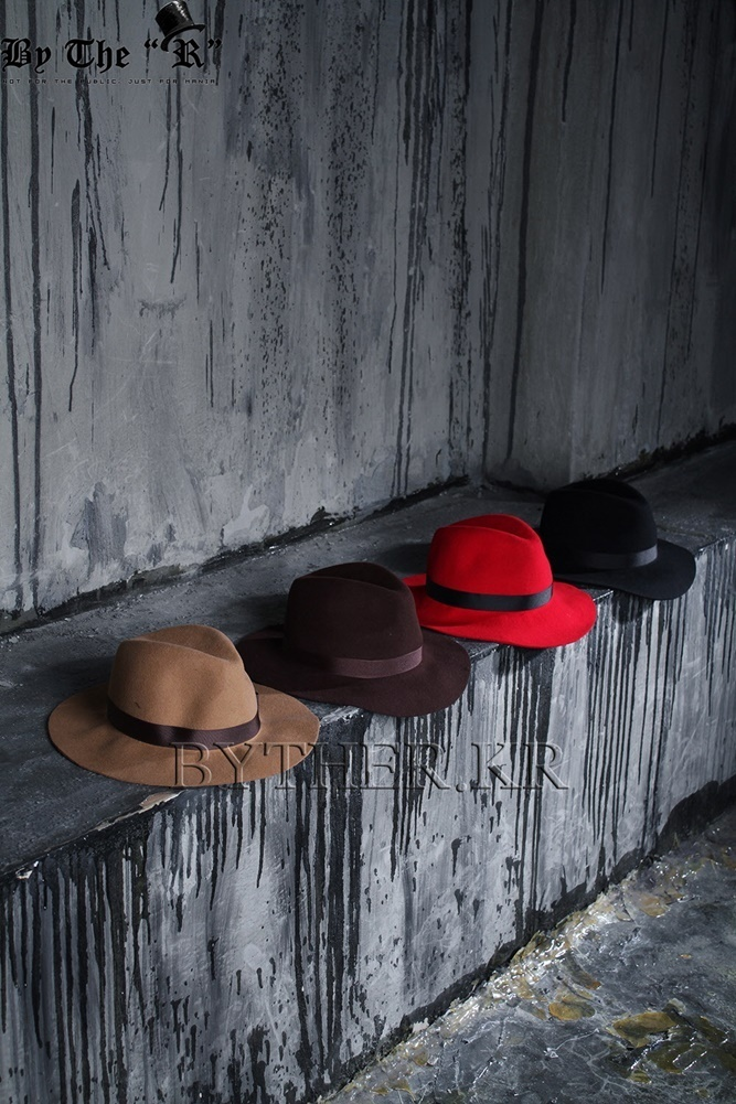 ★韓国の人気★BTHR★ByTheR Custom Deep Shearling Fedora★
