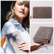 AUS発【THE HORSE】Block Wallet in Grey ★レザー長財布