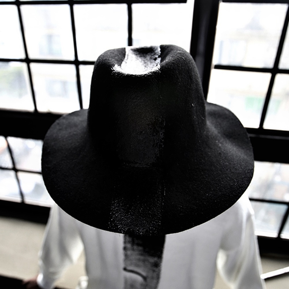 韓国の人気★BTHR★ByTheR Custom Mohican Painting Felt Fedora