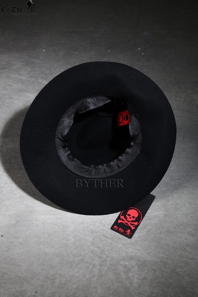 ★韓国の人気★BTHR★ByTheR Custom All Cover Painting Fedoras