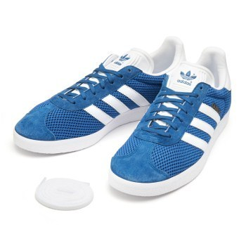 【ADIDAS】アディダス GAZELLE  BB2757   BLUE/WHT/BLUE
