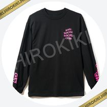 Anti Social Social Club GET WEIRDER BLACK LS Tee ASSC ロンT
