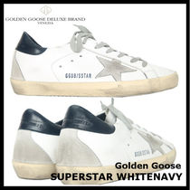 【Golden Goose】SUPER STAR WHITE NAVY GCOWS590 A7