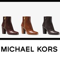 【セレブ愛用】★MICHAEL KORS★ Margaret Leather Ankle Boot