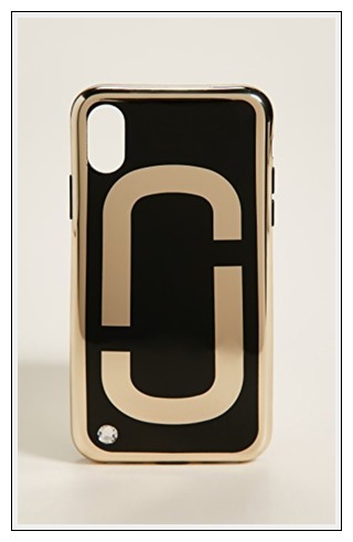関税送料こみ marc jacobs Double J iPhone X / iPhone 8 Case