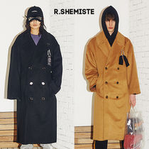 R.SHEMISTE(アルスィミスト) コート ★R.SHEMISTE★ Long slit keyring collar coat