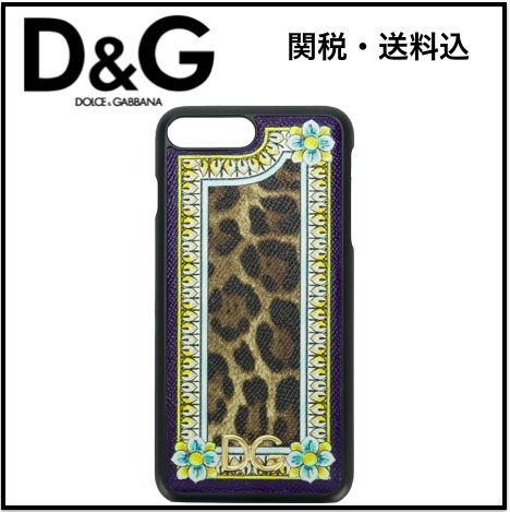 ☆関税・送料込☆DOLCE & GABBANA  iPhone 7 Plus ケース