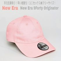 SALE★手元在庫有【送込NEW ERA】9Forty Originator Cap★ピンク