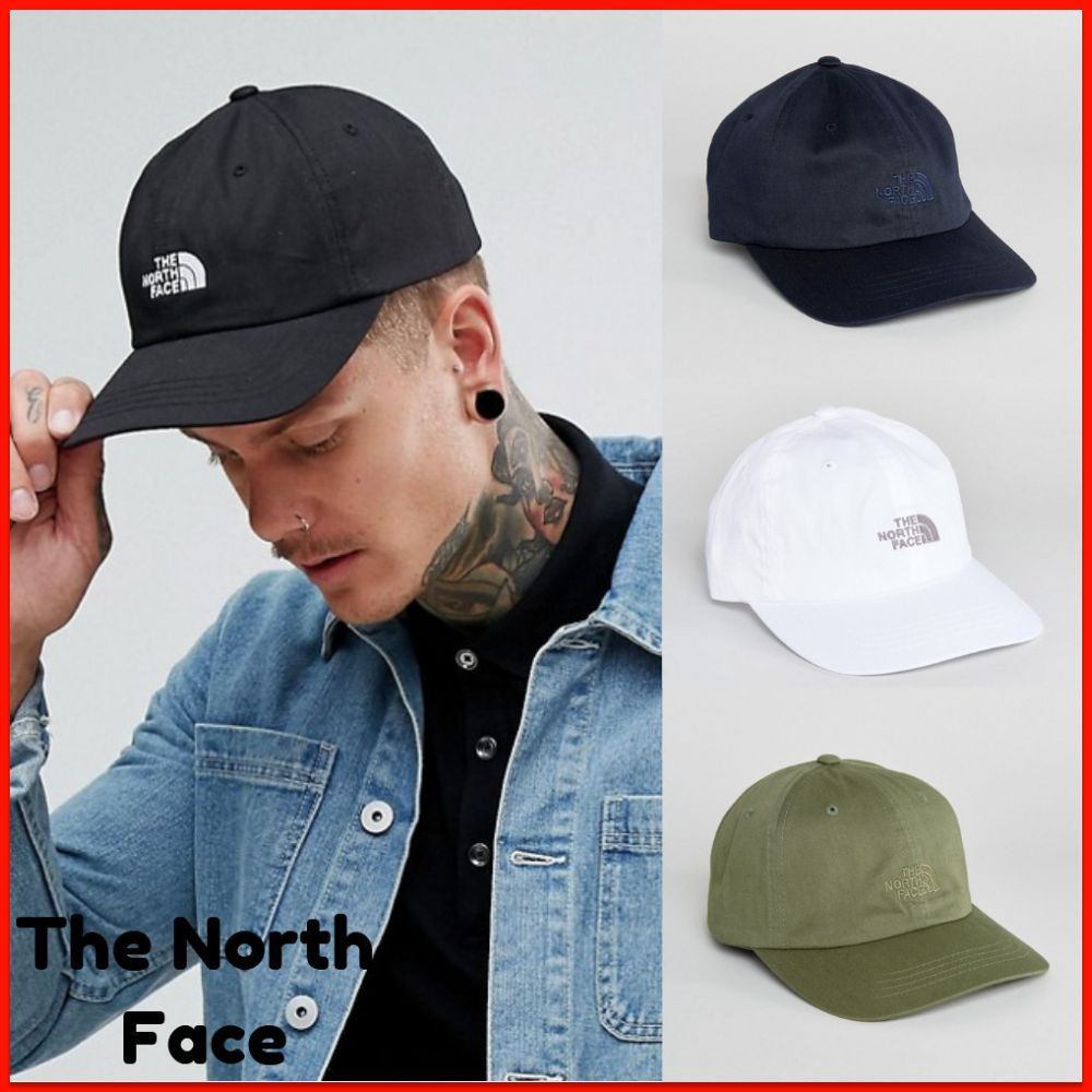 ★The North Face★メンズ ロゴ入りキャップ/4色★関税・送料込