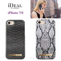 ☆iDEAL OF SWEDEN☆ヘビ柄*2種 iPhone 7/8ケース