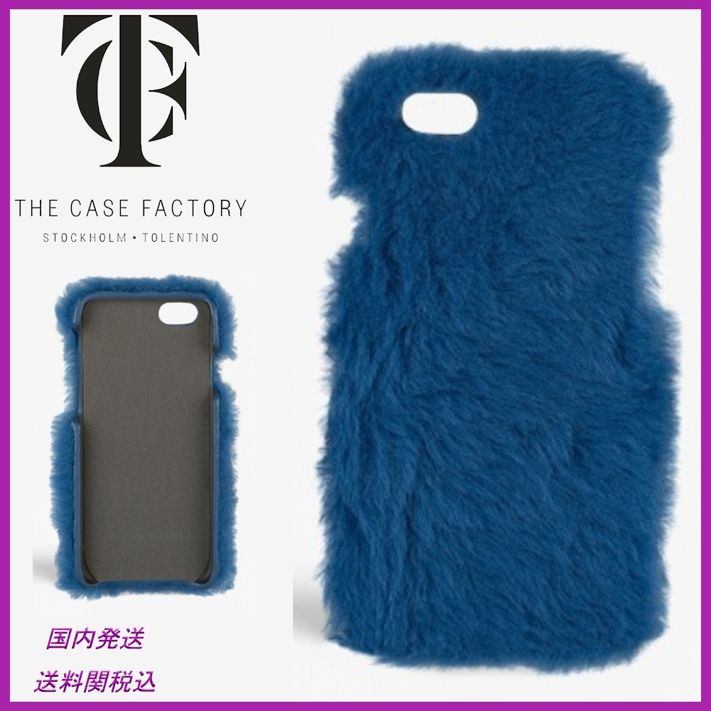 日本未☆THE CASE FACTORY☆Fur Princess iPhone7/8plus case
