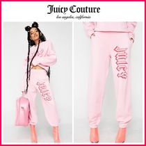 ☆日本未入荷☆新作18SS☆Juicy Couture☆LOGO PANTS