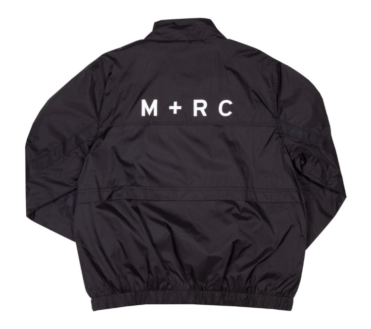 17AW M+RC NOIR(マルシェノア)  PLUG ALL BLACK TRACK JACKET