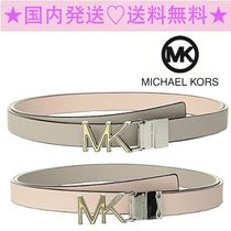 ★Michael Kors★リバーシブルで使える♪★Two-Tone Logo Belt★