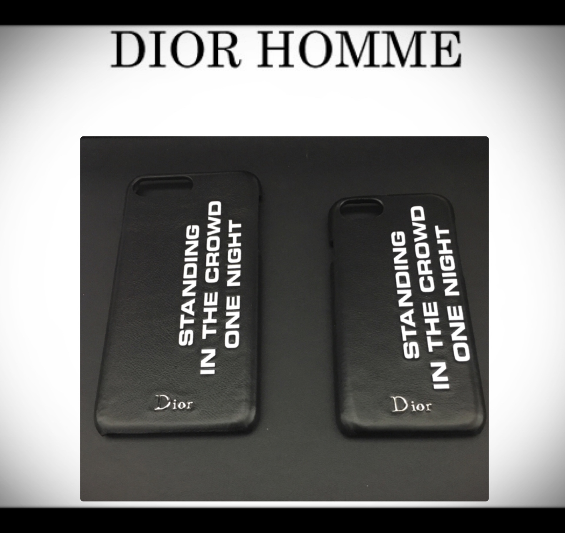 DIOR HOMME★iphone7.8/7.8plus対応ケース★