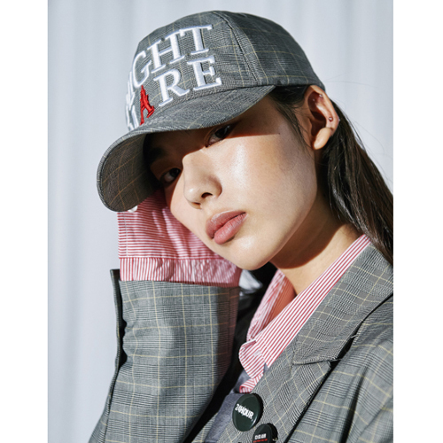 ★ANOTHERYOUTH★韓国の人気★needlepoint ball cap - check