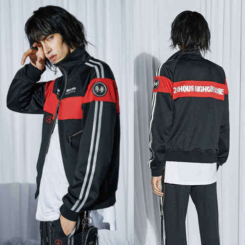 ★ANOTHERYOUTH★韓国の人気★reflective track top