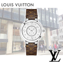 Louis Vuitton ルイヴィトン タンブールスリムPM 腕時計