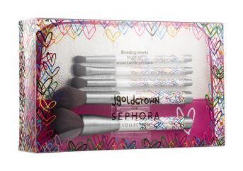 J Goldcrown for Sephora Collection:Bleeding Hearts Brush Set