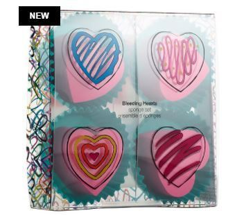 J Goldcrown for Sephora : Bleeding Hearts Sponge Set