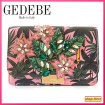 GEDEBE(ゲデべ) クラッチバッグ ★GEDEBE★ Cliky Palms Leather クラッチバッグ 関税込