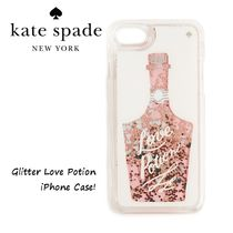 kate spade new york★Love PotionグリッターiPhoneケース