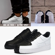NIKE★AIR FORCE 1 '07 PRM SPLIT★バイカラー★黒&白